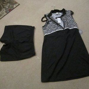 Zenergy By Chico's golf dress /pants Size 1 New